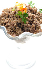Minced meat cooked - Carne macinata cotta
