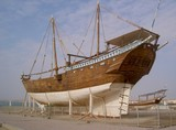 traditional shipbuilding - Oman