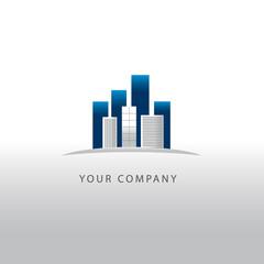 logo entreprise, bâtiment