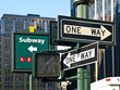 Street Signs in Manhattan