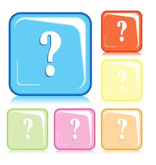 Simbolo quadrato interrogativo