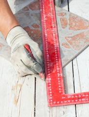 Misura per taglio mattonella