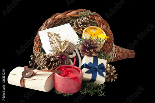 Cornucopia with gifts 1