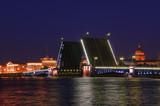 Saint Petersburg, Russia, Drawbridge