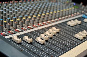 Used studio mixer