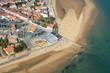 Vue aérienne de la Tranche-sur-Mer, Vendée (85)