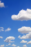Blue sky with clouds for background - 26242299