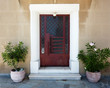 Elegant Greek house door