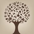 Brown Tree - 26243837