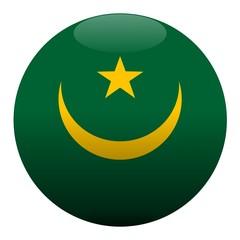 boule mauritanie mauritania ball drapeau flag