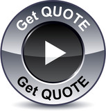 Get quote round button. poster