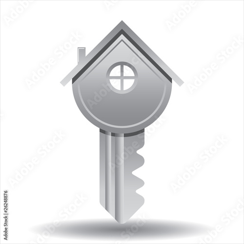 House Key, vector