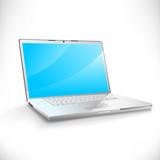 Modern vector laptop