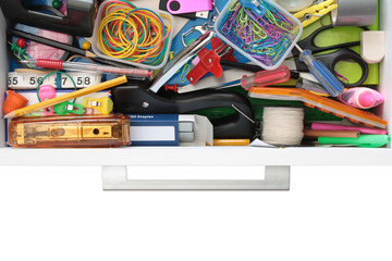 Secrets of the Stationery Drawer Exposed (on White)