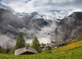 Morning in Gimmelwald