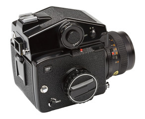 Medium format camera from the 1980s