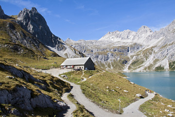 Alpe am Lünersee