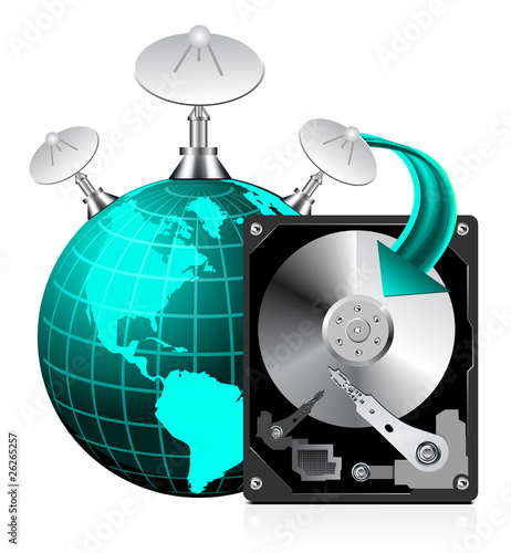 HDD World Globe
