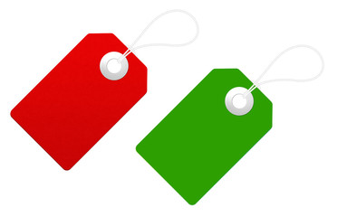 cartellino rosso e verde