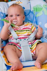 Кормление шестимесячного  малыша