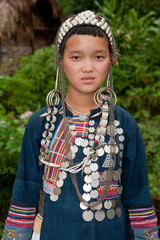 junge Laotin Akha