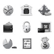 Banking icons | B&W series