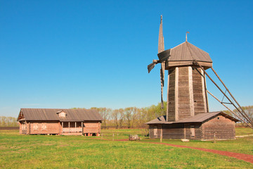 Windmill in the village of Tarkhany