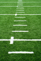 Astro turf football field
