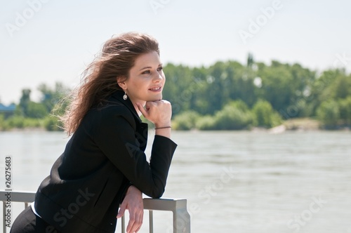 Relax - portrait of young woman