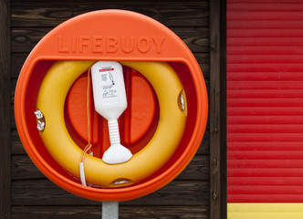 Lifebuoy at the Beach