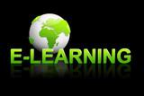 Global e-learning poster