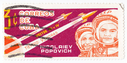 Russian astronaut Nikolaev and Popovich