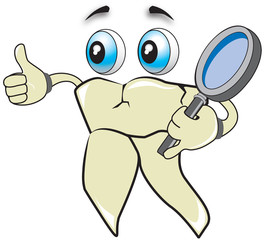 Tooth health checking and message that everything is ok