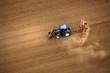 tracteur en activité