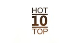 "Explosion with the advent of an inscription ""TOP HOT 10"""
