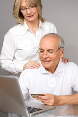 Seniors buying online