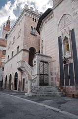 Palace of the Canons. Foligno. Umbria.