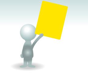 gelbe Karte