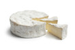 Camembert cheese with slices