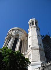 """Basilica """"Notre Dame de Fourvière"""" in Lyon, France."""