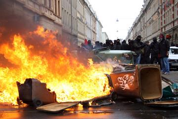 Antifa Demonstration