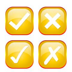 Gelbe Icon Kollektion