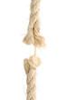 Makro Seil kurz vor dem Riss (isoliert)