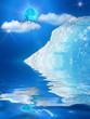 Iceberg  mountain  ice  moon