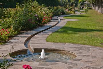 Kurpark Bad Mergentheim Wasserlauf