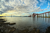 The Bridges, Firth of Forth, Scotland, from South Queensferry