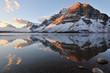 Bow Lake sunrise, Banff National Park