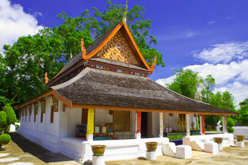 Northern style temple of Thailand