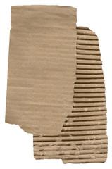 Fine corrugated cardboard sheet for background