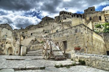 View of Matera. Basilicata.